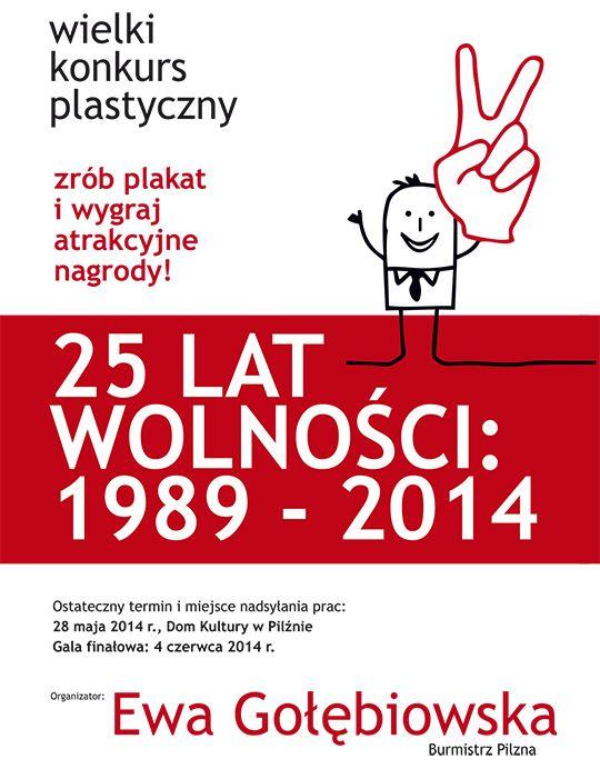 25 LAT WOLNOŚCI - Wielki konkurs plastyczny