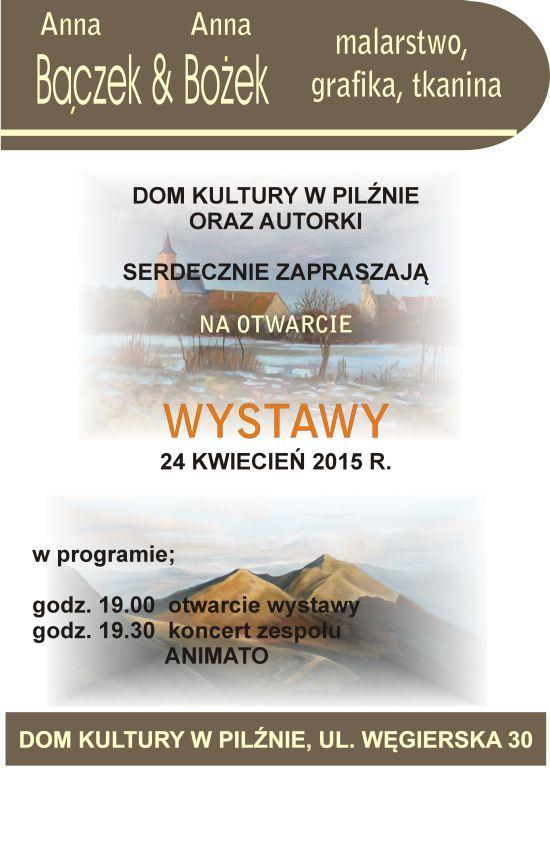 Wystawa Wystawa Anna Bączek & Anna Bożek