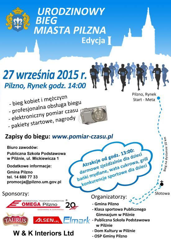 Urodzinowy Bieg Miasta Pilzna 2015